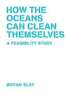 Feasibility Study - The Ocean Cleanup