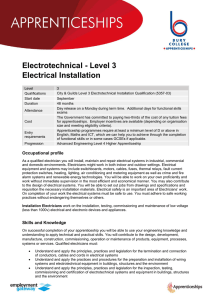 Electro technical Level 3