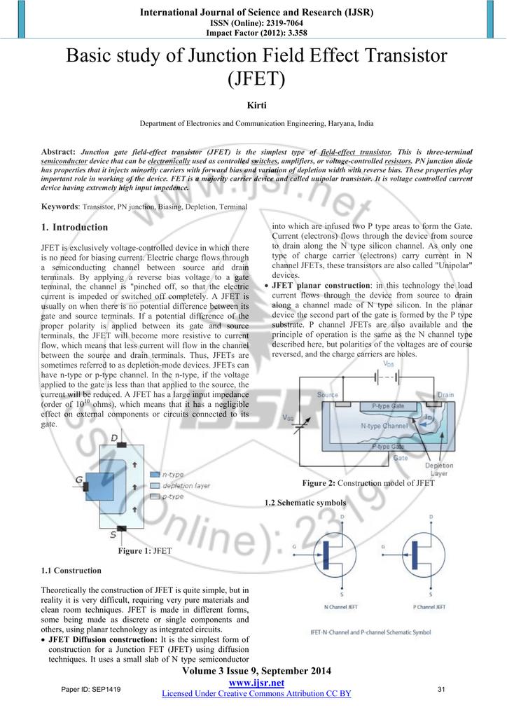 Basic study of Junction Field Effect Transistor (JFET) on bjt schematic symbol, transistor schematic symbol, phototransistor schematic symbol, zener schematic symbol, hemt schematic symbol, fuse schematic symbol, op amp schematic symbol, pmos schematic symbol, pin schematic symbol, rectifier schematic symbol, capacitor schematic symbol, fet schematic symbol, diac schematic symbol, nmos schematic symbol, mosfet schematic symbol, amplifier schematic symbol, anode schematic symbol, ferrite core schematic symbol, potentiometer schematic symbol, adc schematic symbol,