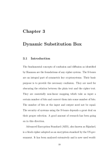 Dynamic Substitution Box