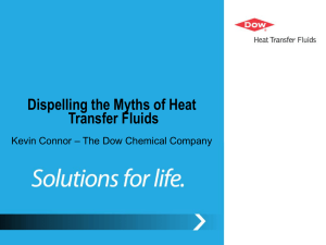 Dispelling the Myths of Heat Transfer Fluids