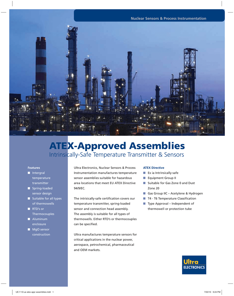 ATEX-Approved Assemblies