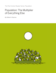 Population: The Multiplier of Everything Else