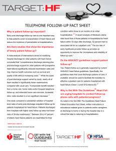 Target Heart Failure_Telephone Follow Up Fact Sheet