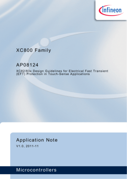 XC82/83x Design Guidelines for Electrical Fast Transient