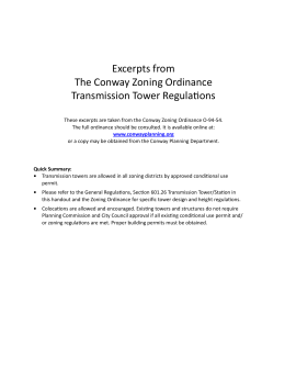 Transmission Tower Information