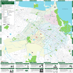Mid-Peninsula Bicycle Map