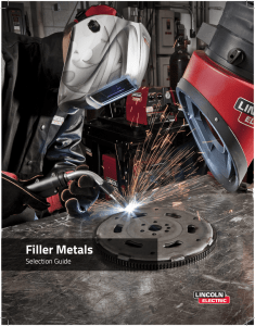 Filler Metal Selector Guide