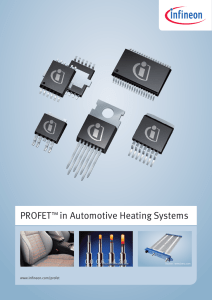 PROFET™ in Automotive Heating Systems
