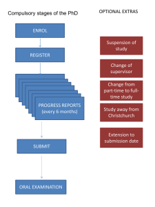 ENROL REGISTER PROGRESS REPORTS (every 6 months