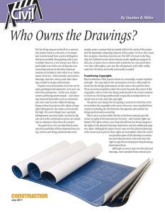 Who Owns the Drawings?