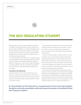 The SeLF-ReguLATing STuDenT - Canadian Self