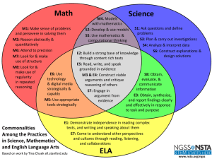Math Science ELA