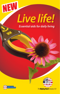 Essential aids for daily living - Helping Hand USA