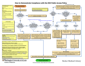 How to Demonstrate Compliance with NIH Public Access Policy