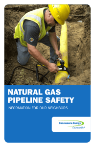 NATURAL GAS PIPELINE SAFETY