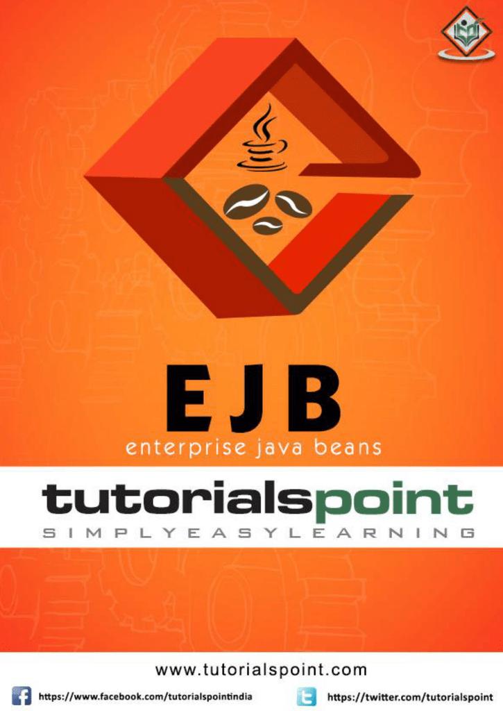 EJB Tutorial (PDF Version)