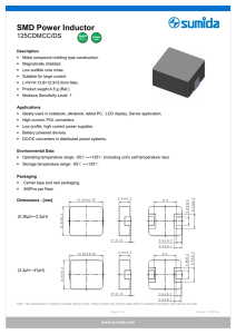 SMD Power Inductor