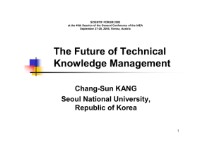The Future of Technical Knowledge Management