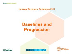EYFS Baseline and Progression