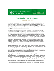 Myofascial Pain Syndrome - Physician Pain Specialists