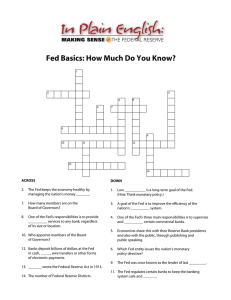 Fed Basics: How Much Do You Know?