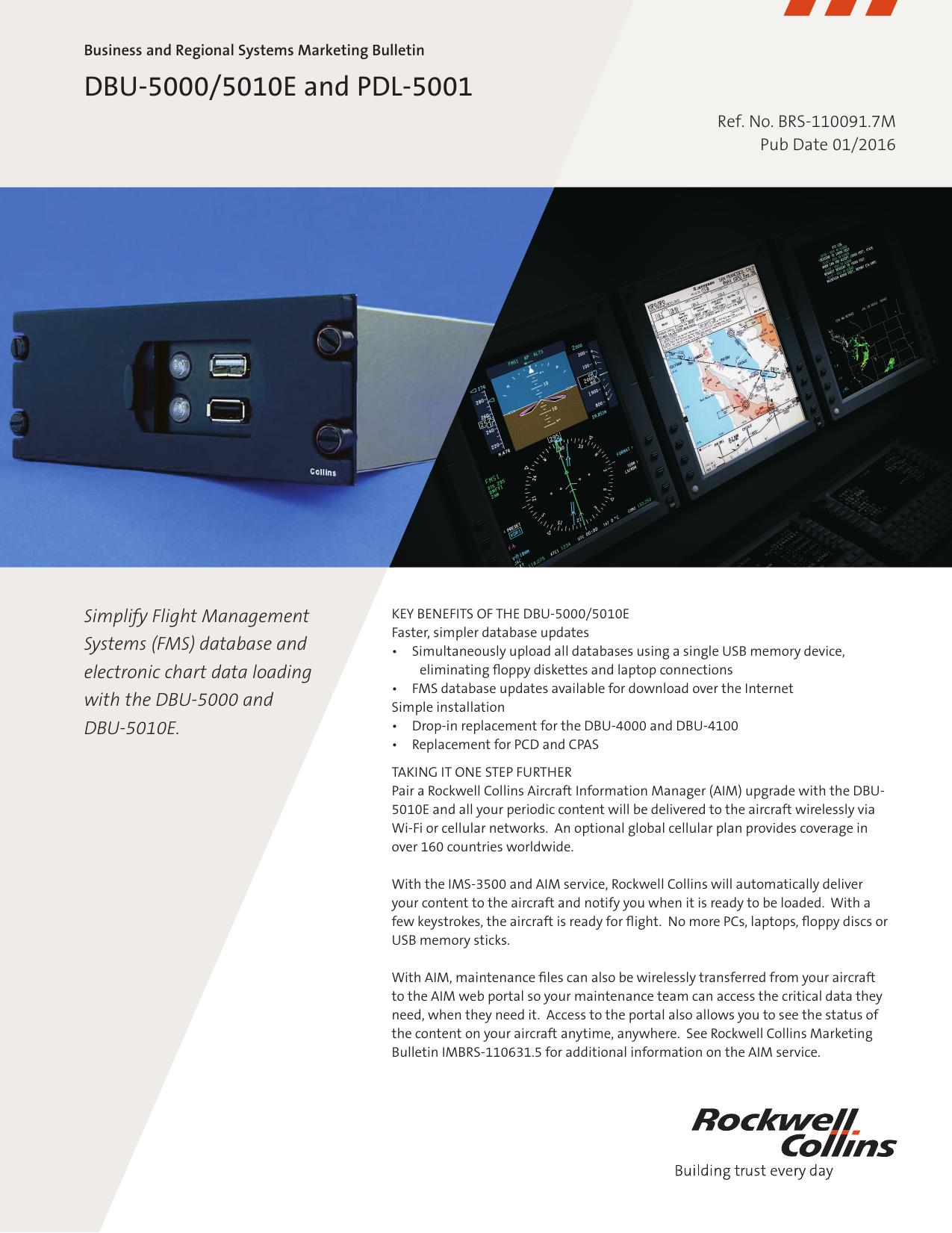 MB-DBU-5000-5010E BRS110091-3M 01-2014