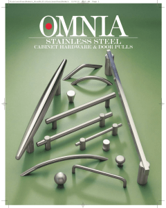 stainless steel - OMNIA Industries, Inc.