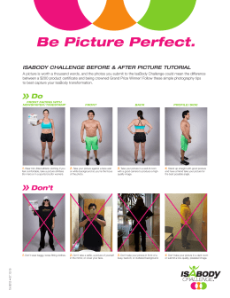 Be Picture Perfect.