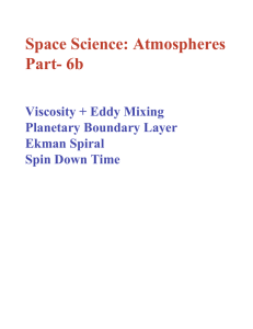 Space Science: Atmospheres Part