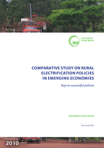 Comparative Study on Rural Electrification