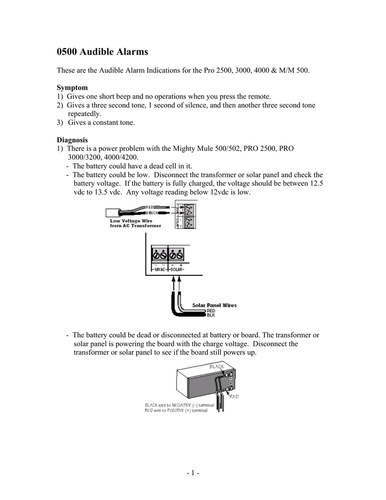 Mighty Mule 500 Problems Wiring Diagram Gates That Open Gto 791x1024