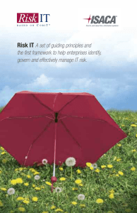 Risk IT Brochure