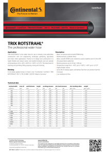 TRIX ROTSTRAHL® - The professional water hose