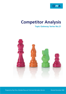 Competitor Analysis Topic Gateway