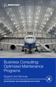 Optimized Maintenance Programs