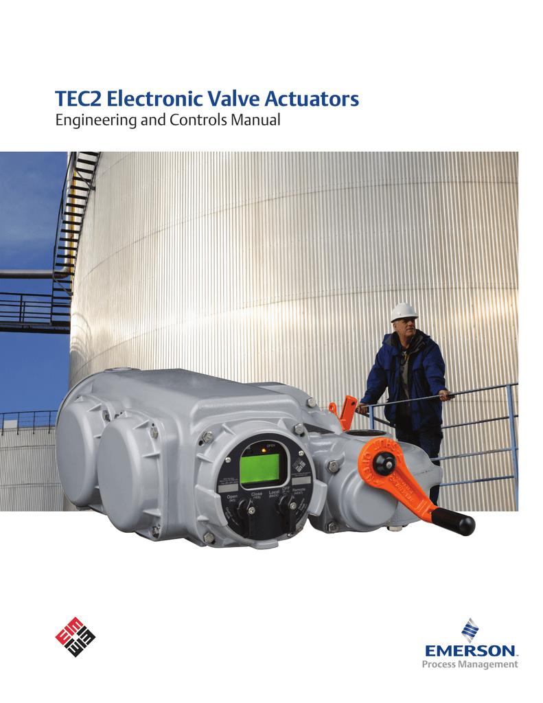 Tec2 Electronic Valve Actuators Eim Actuator Wiring Diagram