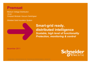 Premset Smart grid, distributed intelligence