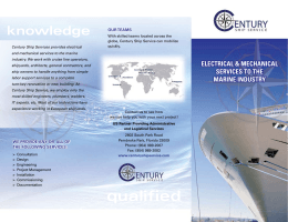 qualified - Century Ship Service