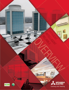 Overview Brochure - Mitsubishi Electric