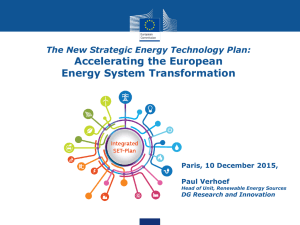 Accelerating the European Energy System Transformation