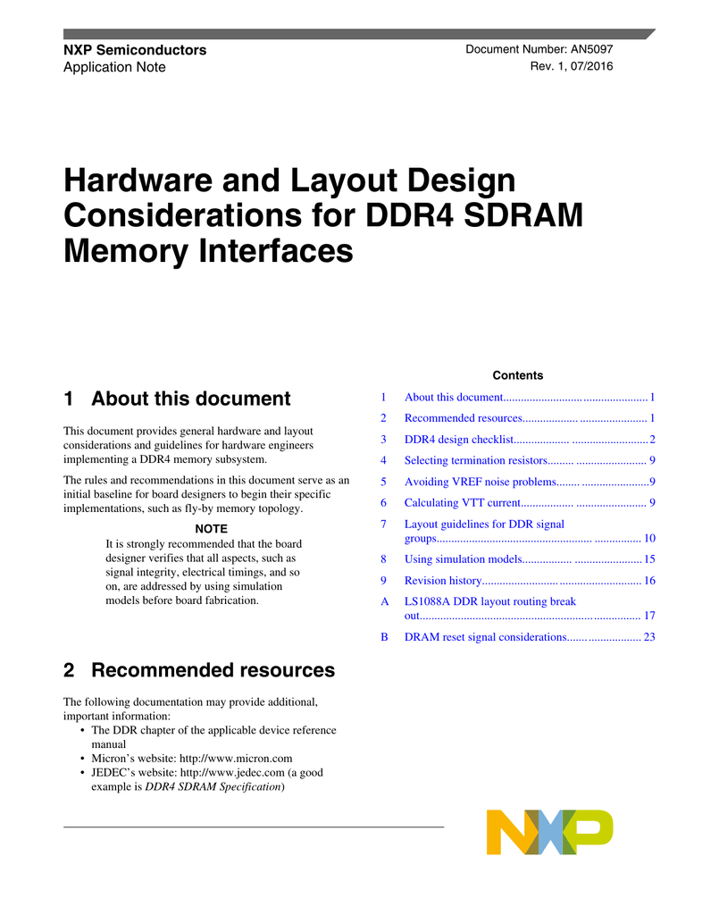 AN5097, Hardware and Layout Design Considerations for