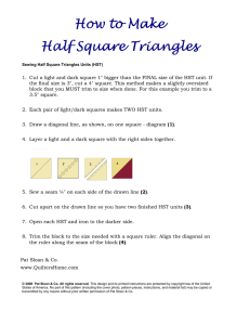 the half square triangle directions HERE