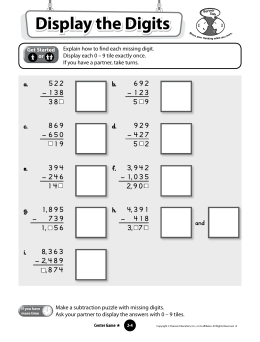 Display the Digits-Subtracting _regrouping_
