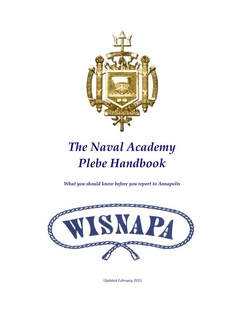 The Naval Academy Plebe Handbook