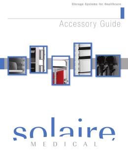 Accessory Guide - Solaire Medical