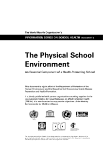 The Physical School Environment