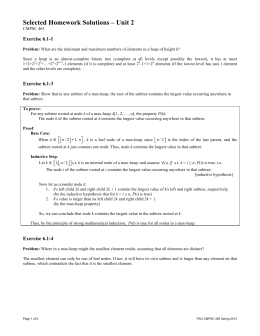 Selected Homework Solutions – Unit 2