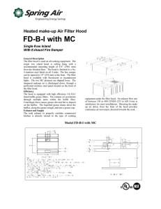 FD-B-I with MC - Spring Air Systems