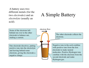 A Simple Battery